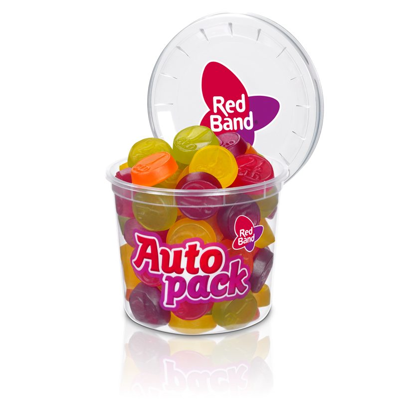 Red Band Fruchtgummi Münzen Autopack 200g
