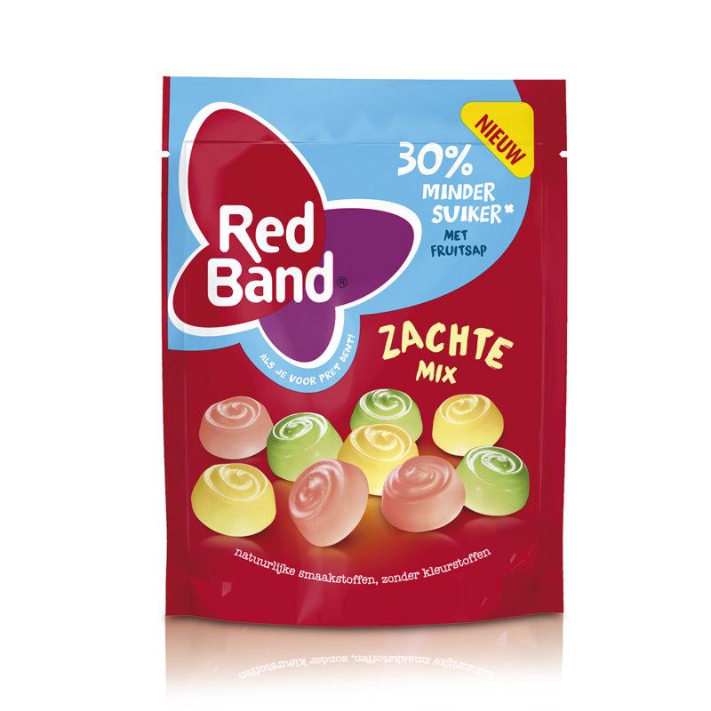 """Red Band """"30% weniger Zucker"""" Weichgummi Mix 210g"""