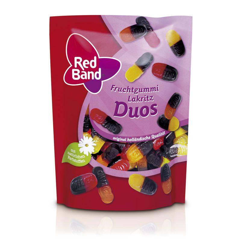 Red Band Fruchtgummi Lakritz Duos Premium Stehbeutel 200g