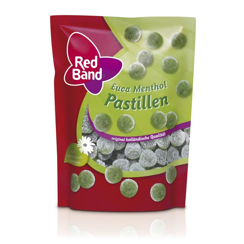 Red Band Euca Menthol Premium Stehbeutel 200g
