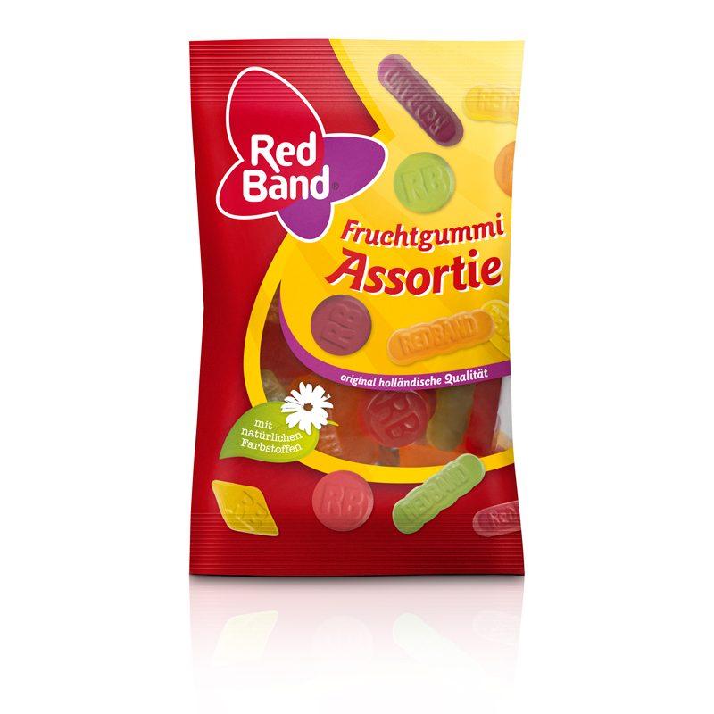 Red Band Fruchtgummi Assortie Snackpack 100g