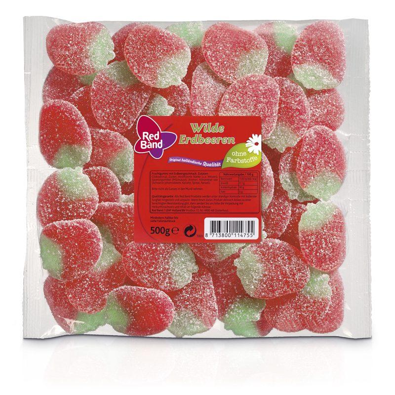 Red Band Wilde Erdbeeren Family Beutel 500g