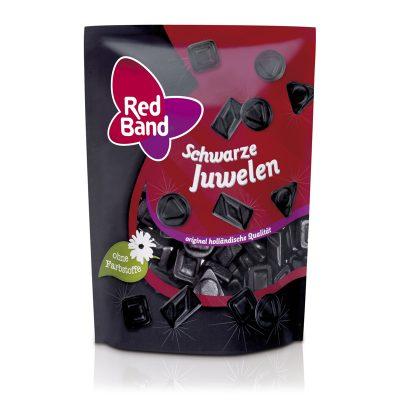 Red Band Schwarze Juwelen Premium Stehbeutel 200g
