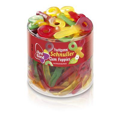 Red Band Fruchtgummi Schnuller Klarsichtdose 100 Stk.