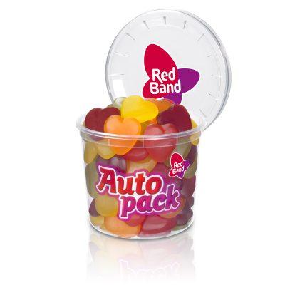 Red Band Fruchtgummi Herzen Autopack 200g