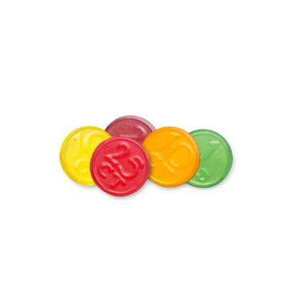 Red Band Fruchtgummi Münzen