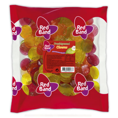 Red Band Fruchtgummi Clowns Beutel 1kg