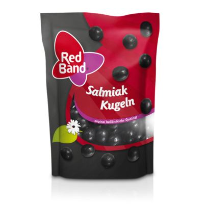 Red Band Salmiak Kugeln