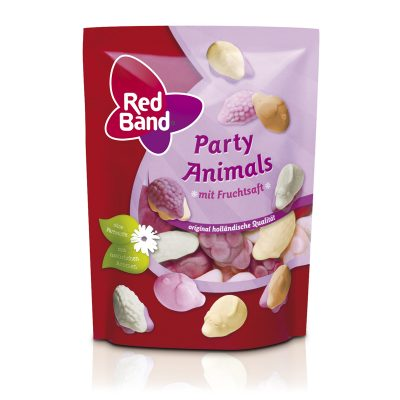 Red Band Party Animals Premium Stehbeutel 175g