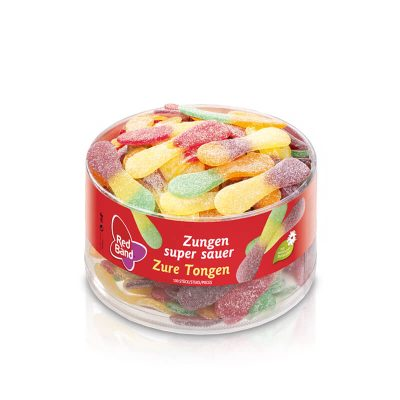Red Band Fruchtgummi Zungen super sauer