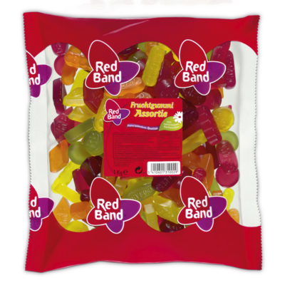 Red Band Fruchtgummi Assortie Beutel 1 kg
