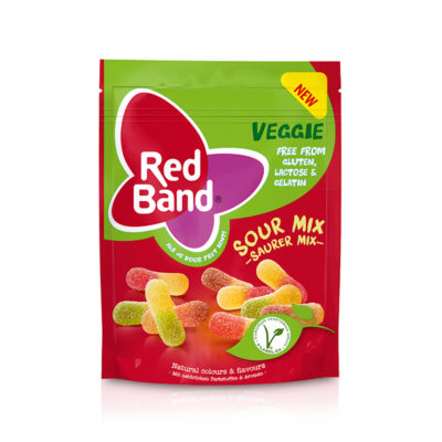 Red Band Veggie Saurer Mix Premium Stehbeutel 150g