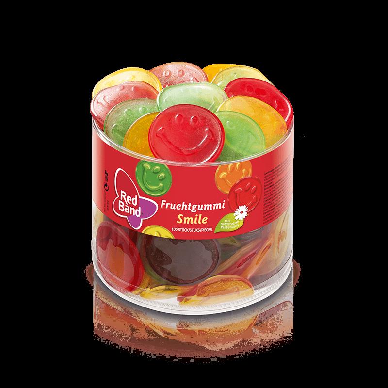 Red Band Fruchtgummi Smile Klarsichtdose 100 Stk
